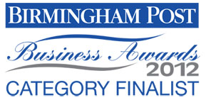 Birmingham Business Awards Category Finalist